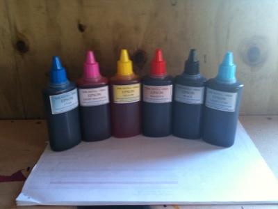 Epson Universal Ink Refill Packs 100mls