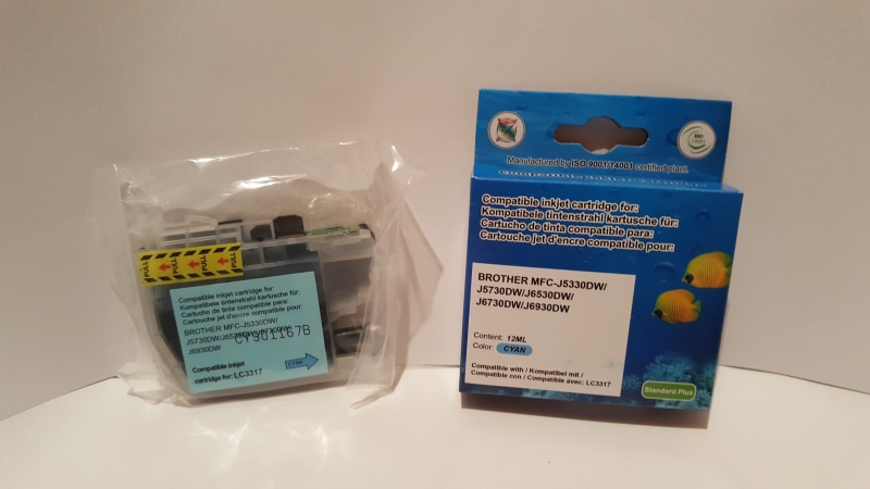 BO9BK LC3317  Inkjet Cartridge for BROTHER